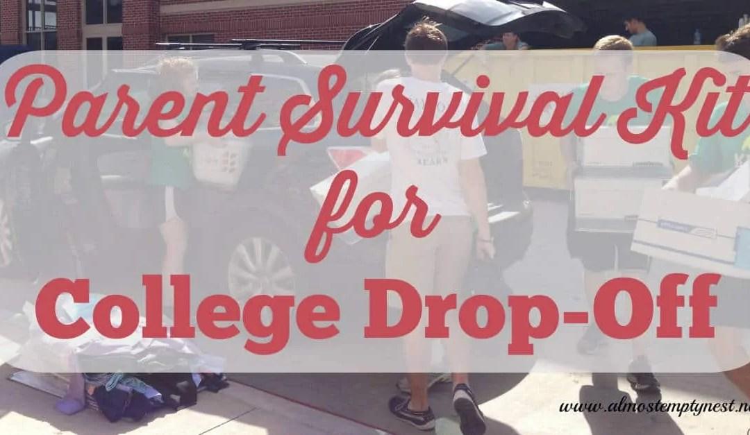Parent Survival Kit for College Drop-Off