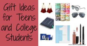 Gift Ideas for Teens and College Students