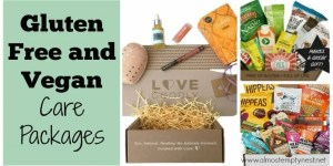 Gluten Free and Vegan Care Packages