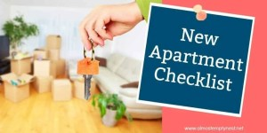 New Apartment Checklist