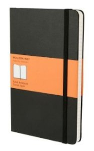 The Classic Lined (Large) Moleskine Notebook