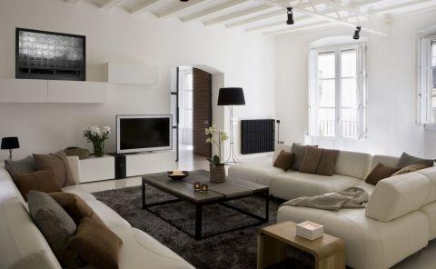 Contemporary Apartment Decorating Photos