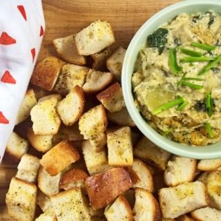 Creamy Vegan Spinach and Artichoke Dip