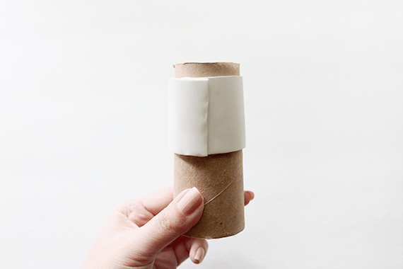 faux ceramic napkin rings  | almostmakesperfect
