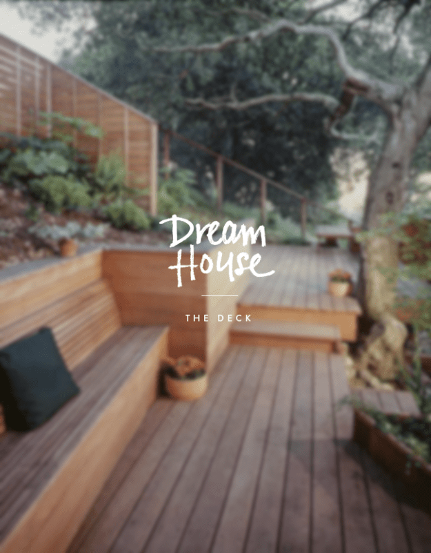 dream house || the deck | almost makes perfect