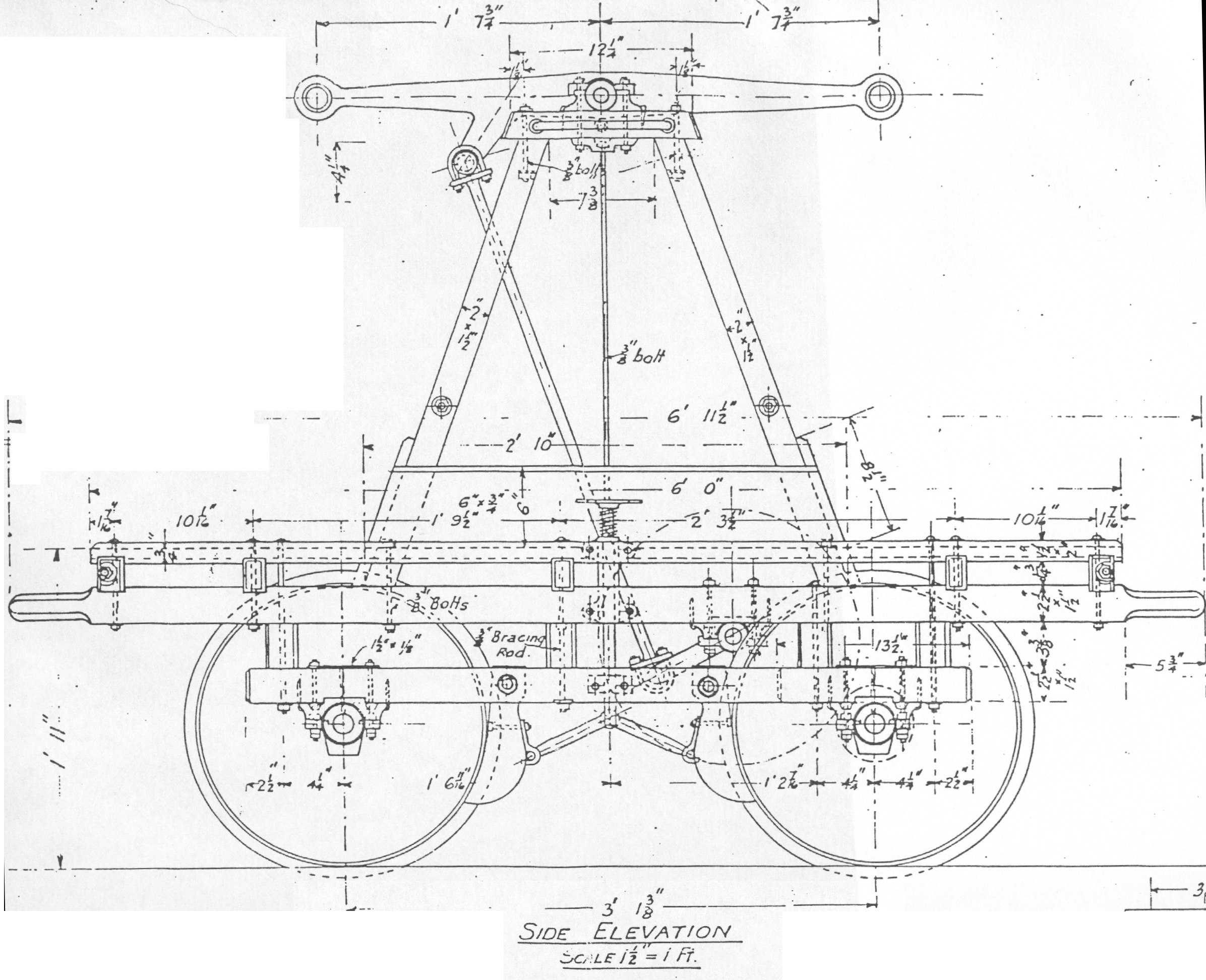 Side Elevation Of A Handcar Almost Scientificalmost