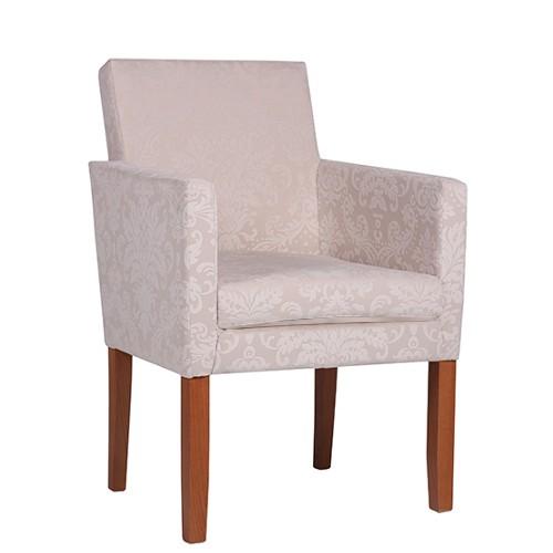 fauteuil rembourre rocco tissu floral