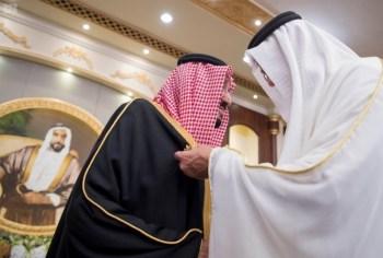 الملك يشرف مأدبة العشاء في الامارات13