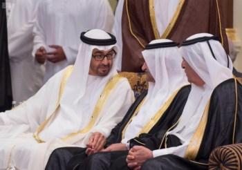 الملك يشرف مأدبة العشاء في الامارات15