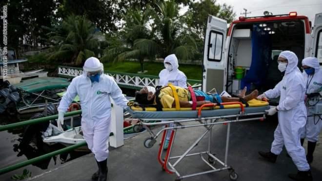 28378 إصابة جديدة بـ كورونا و869 وفاة في البرازيل