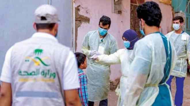 الصحة : تسجيل 576 حالة كورونا جديدة وتعافي 1145