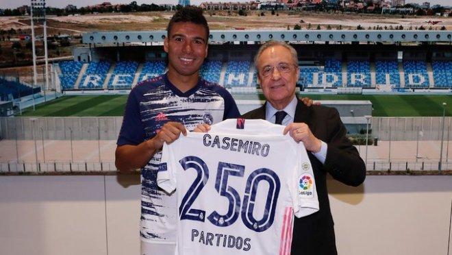 إنجاز مميز لـ كاسيميرو بعد مباراة ريال مدريد والإنتر