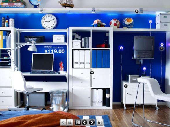 غرف نوم للشباب من ايكيا منتديات بورصات