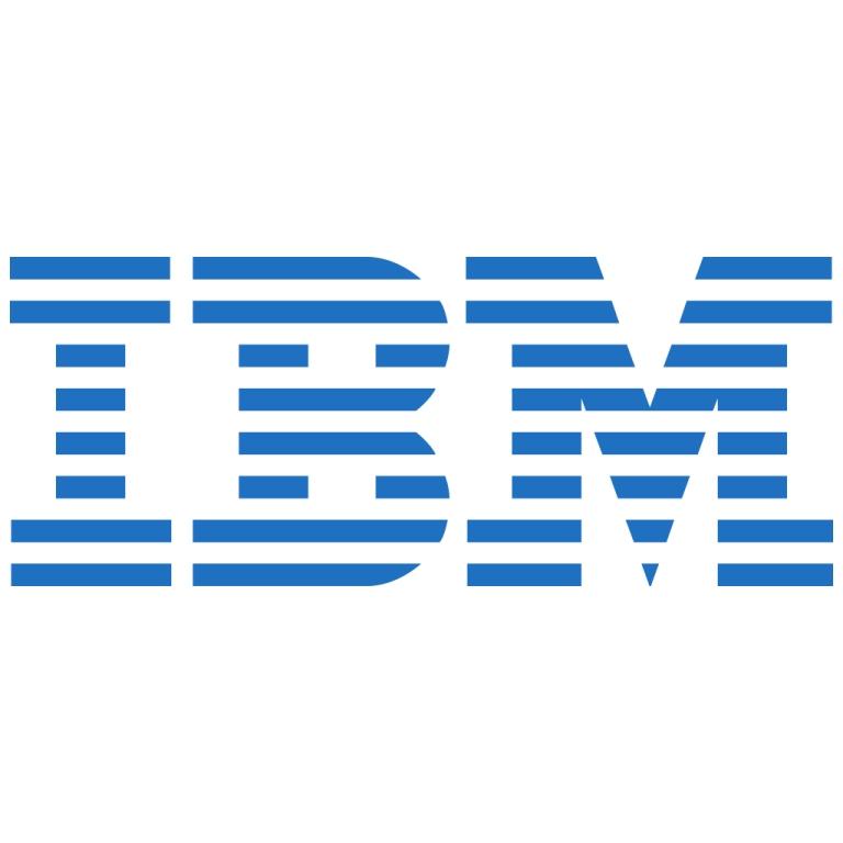 شعار اي بي ام IBM