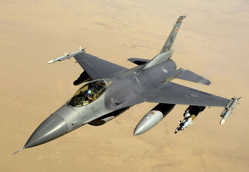 Dynamics F-16 Fighting