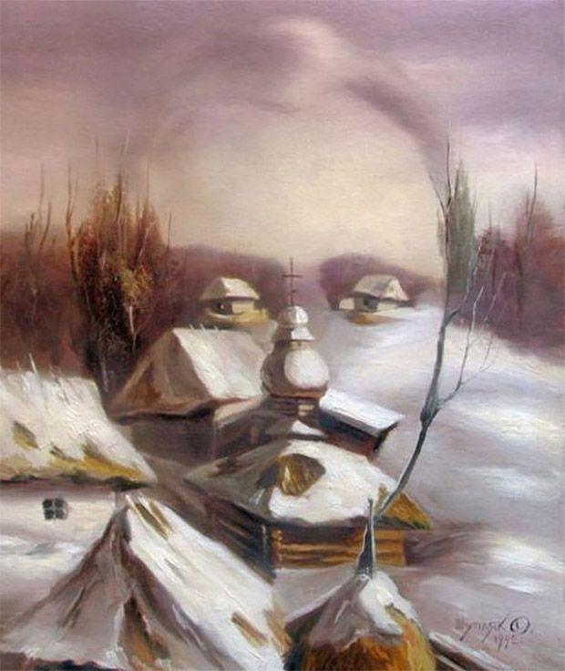 optical illusion portraits