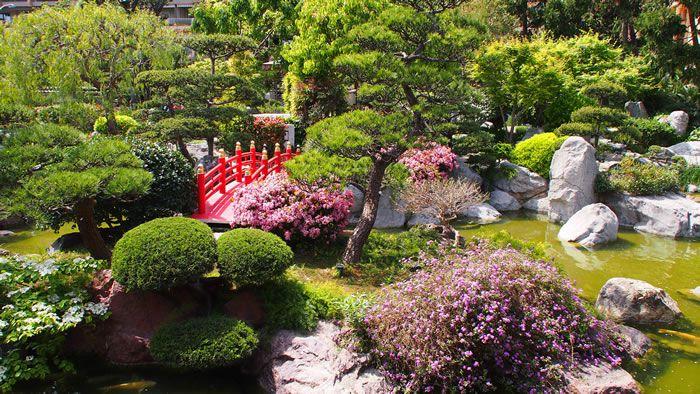 Japanese Garden in Monaco-