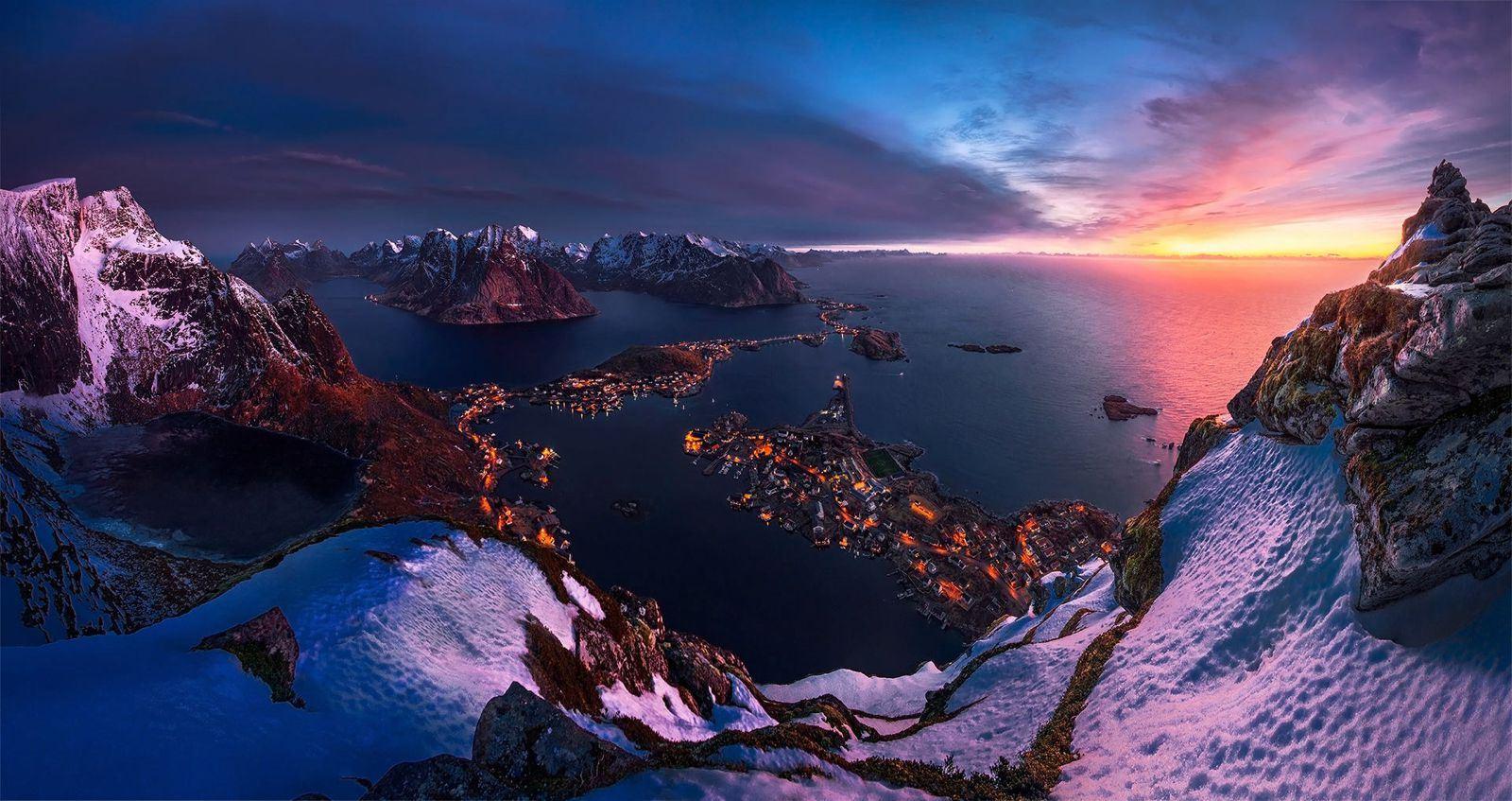 نتيجة بحث الصور عن جزر لوفوتين، النرويج