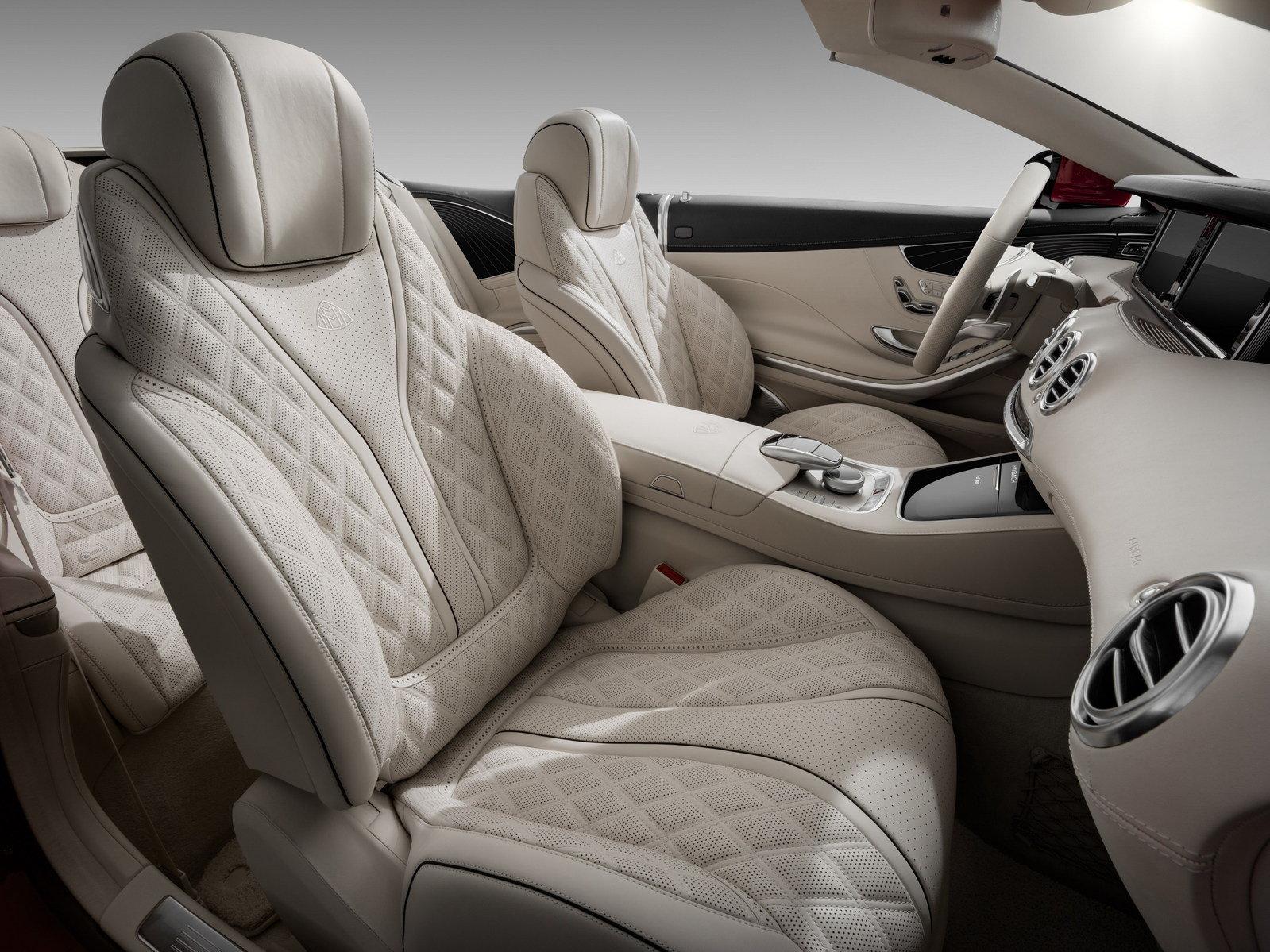 التصميم الداخلي للسيارة مرسيدس مايباخ S650 2018 المكشوفة
