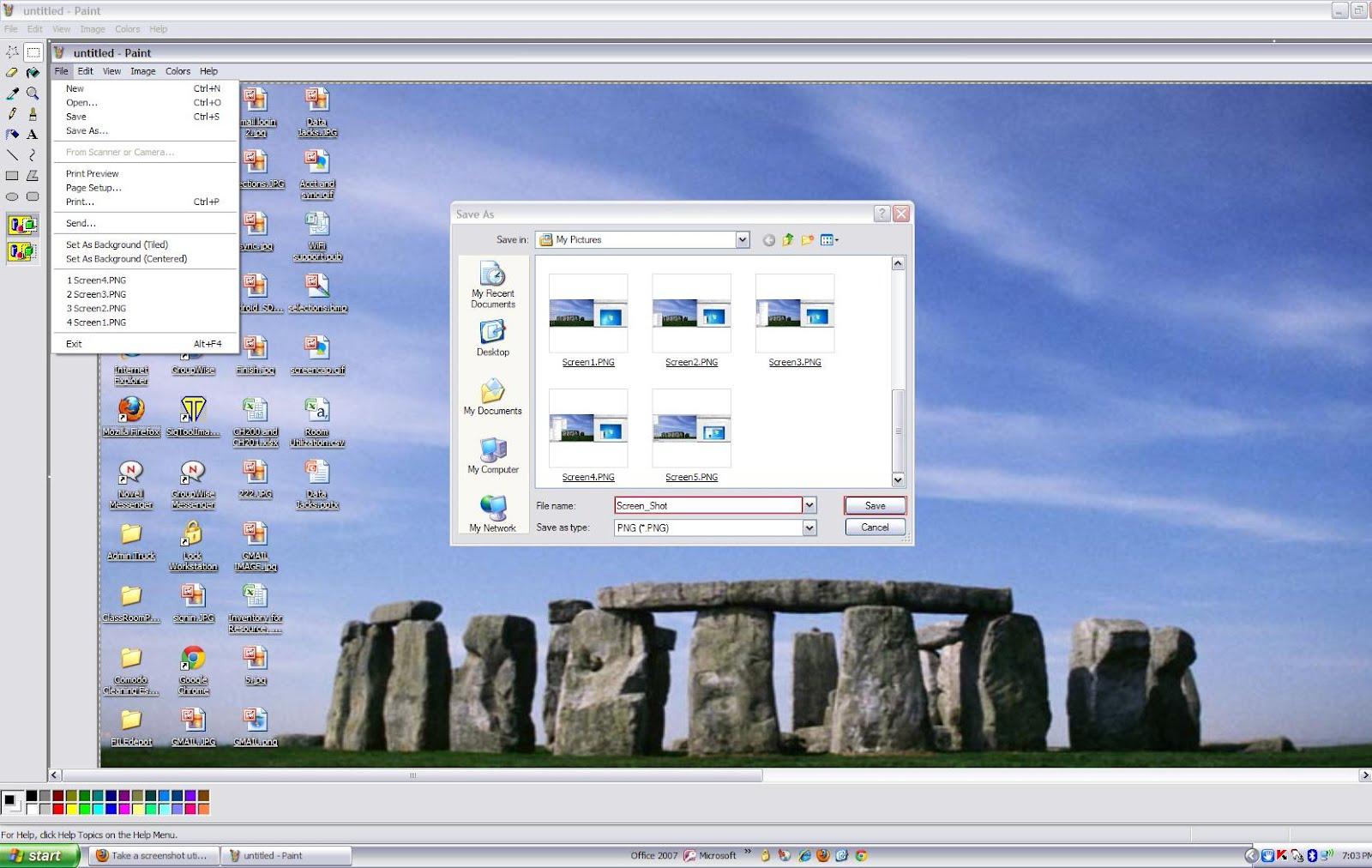طريقة تصوير شاشة الكمبيوتر من الكيبورد المرسال