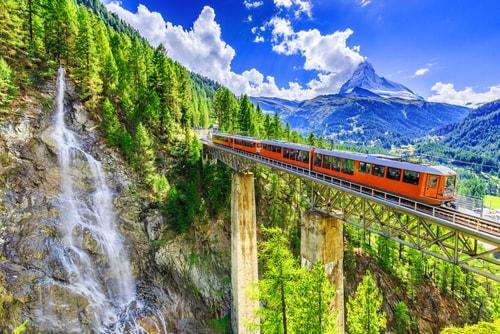 مناظر خلابه من سويسرا عليك ان تشاهدها