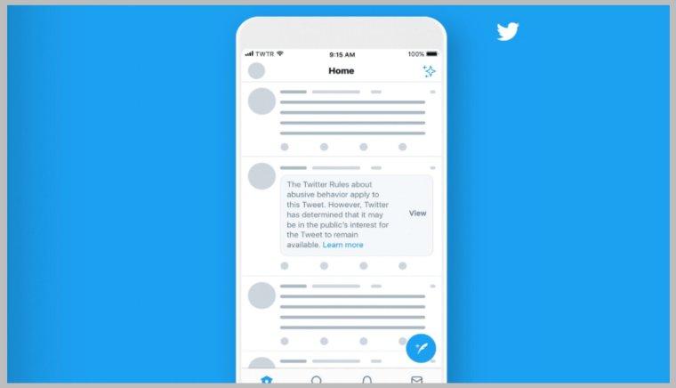 تويتر تخفي التغريدات المسيئة