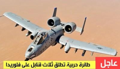 سرب طيور يتسبب في أطلاق ثلاث قنابل من طائرة حربية على فلوريدا !!!