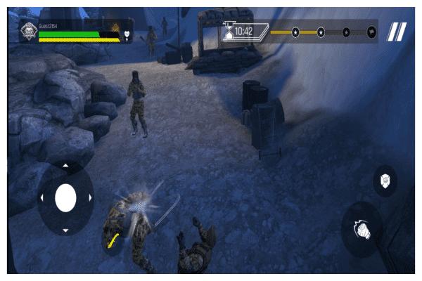 صور من لعبة FAU-G apk