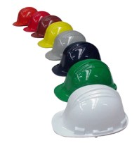 casco de obra seguridad colores
