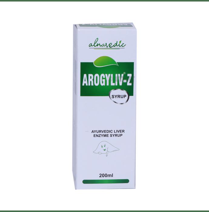 ALNAVEDIC AROGYLIV Z : LIVER & DIGESTIVE / ENZYME AYURVDEIC SYRUP