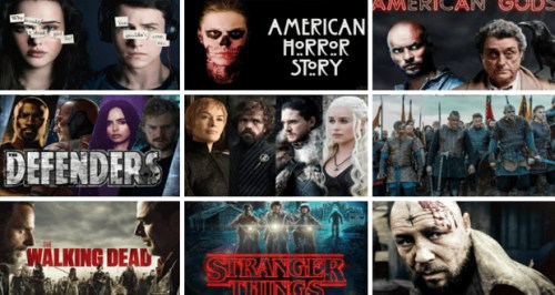 افضل المسلسلات الاجنبية اخر خمس سنوات