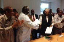 توقيع اتفاق بين المهدي وعقار بباريس