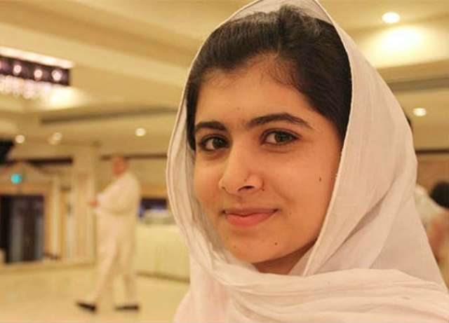 ملالا يوسفزاي الناشطة الباكستانية