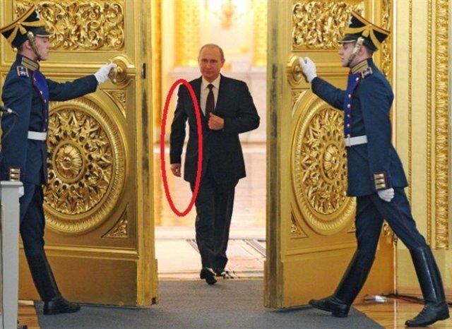 مشية الرئيس بوتين