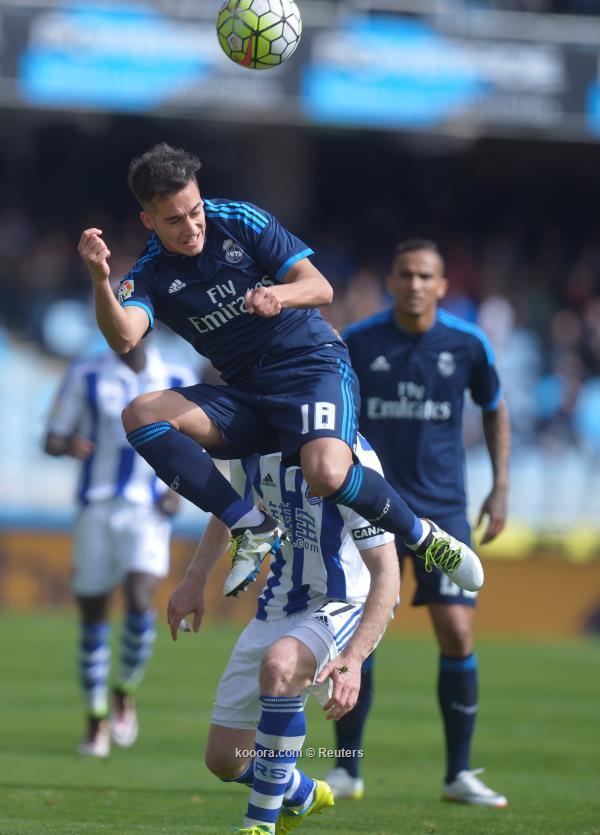 ريال مدريد ينجو من فخ سوسييداد ويتصدر مؤقتاً1