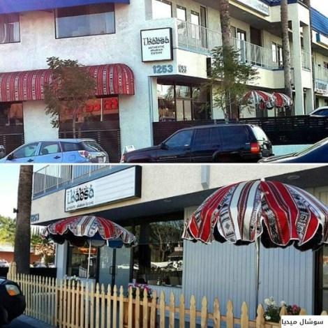 سعودي فتح مطعماً للوجبات الخليجية في مدينة الإنتاج السينمائي بأميركا