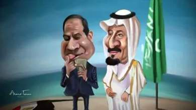 Photo of نزل علم مصر و عد فلوسك يا سيسي !