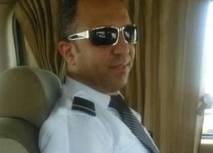 طاقم الطائرة المصرية المنكوبة