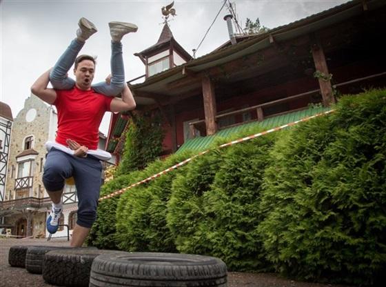 سباق حمل الزوجات في أوفا بروسيا