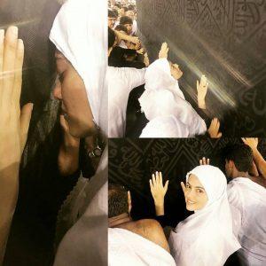صور الأميرة لالة أميمة بالحجاب في العمرة تشعل مواقع التواصل1