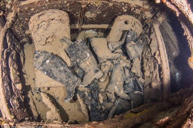 صور مذهلة لسفينة بريطانية غرقت في البحر الأحمر منذ 75 عاما2
