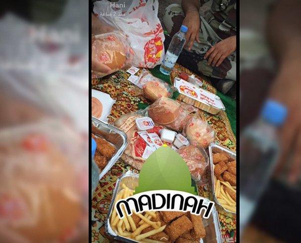 الشهيد الصبحي شارك صورة إفطار لم يكمله