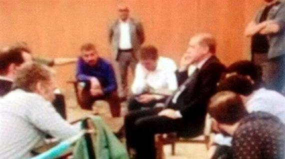 أردوغان في فندق مرمريس لحظة وقوع الانقلاب1