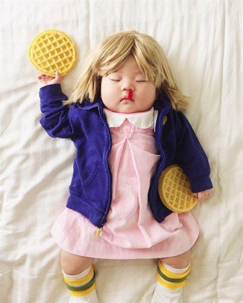 أطفال أصبحوا مشهورين وهم نائمون3