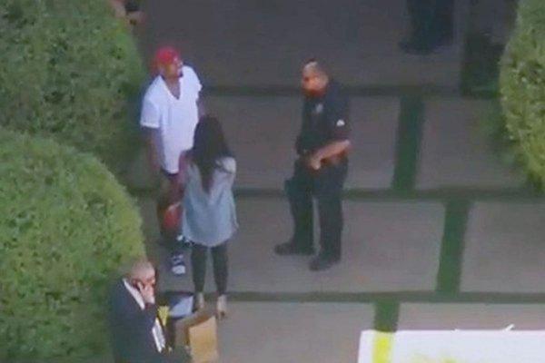 اعتقال المغني الأمريكي كريس براون