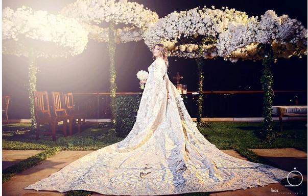 حفل زفاف أسطوري لـ«نادين نجيم» ملكة جمال لبنان1