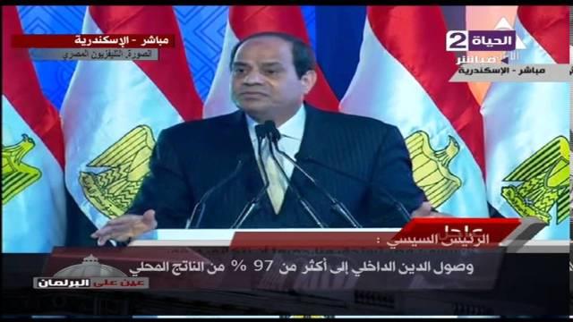 فيديو.. السيسي: طالبت الإخوان بشرح الموقف الاقتصادي لمصر