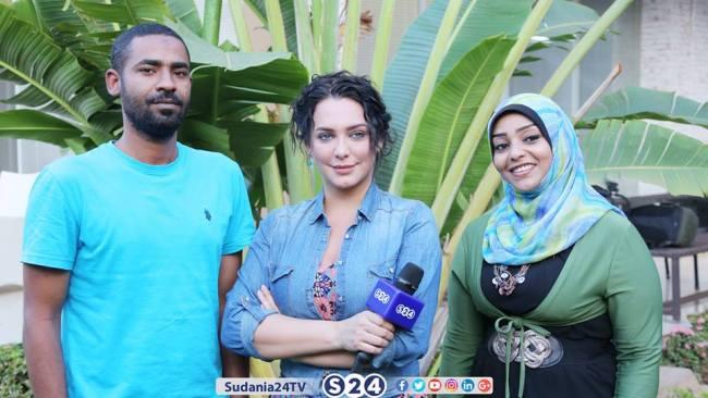 يلاف تخلع الثوب السوداني في سودانية 24