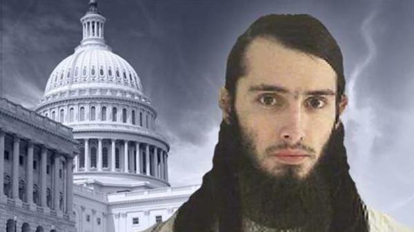أميركي داعشي لمهاجمة الكونغرس