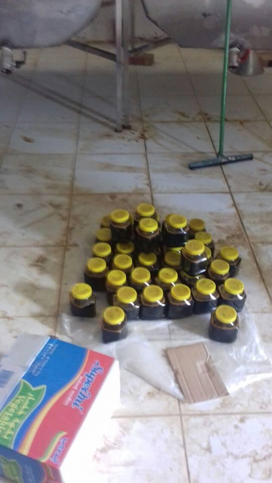 ضبط مصنع عشوائي للعسل بسوبا